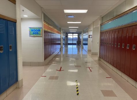 "Here is the hallway known as the ""gifted"" hallway at MSS. Here many students were given labels that caused them to view themselves in certain ways."