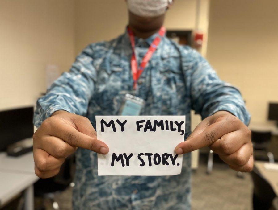 A family, a story