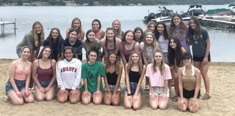 Members of Orchesis meet up outside of school to take part in team bonding activities. This year, with a larger group than before, Orchesis hopes to return to more if its normal activities.