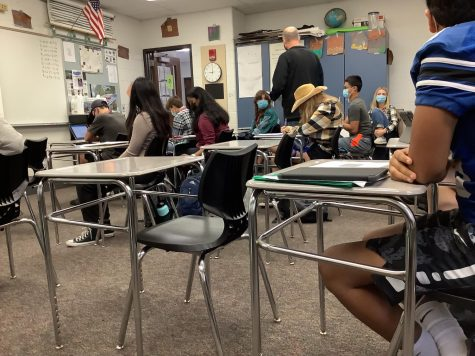 This year, all students are back in classrooms, interacting with each other and their teachers.