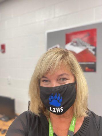 Tammy Johnson, substitute teacher, teaches at LZ.
