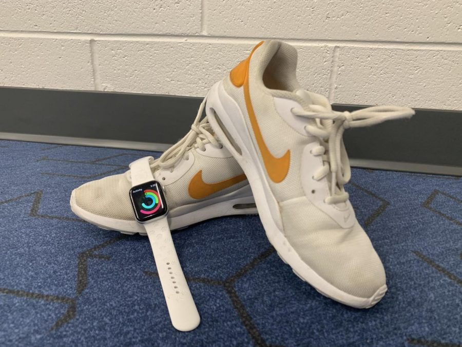Students spend passing periods walking around the school from class to class, and many use fitness watches to track steps.